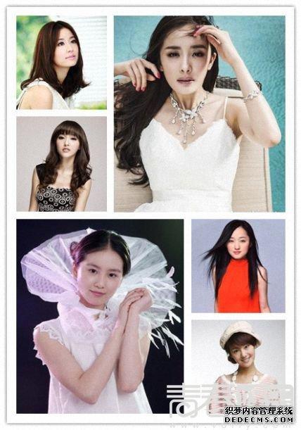 2013亚洲十大美女排名公布