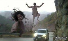 《进击的巨人》精彩汽车广告 真人版电影导演亲自执导