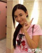 网友厕所偶遇张柏芝拍照留念 女神清纯似18岁