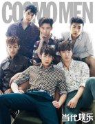 2PM齐聚《COSMOPOLITAN》展野兽团成熟霸气