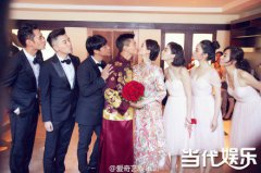 吴奇隆刘诗诗婚礼袁弘伴郎被逼婚张歆艺 胡歌缺席霍建华和陈乔恩配一脸?