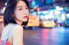 温雅泰国写真少女感满分 皮肤白皙露甜美微笑