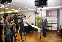 公益真人秀深圳开机汇福集团携手众明星启动爱心之旅