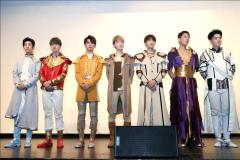 全息音乐剧《龙》特别版公演 ZERO-G男团助阵现场演绎
