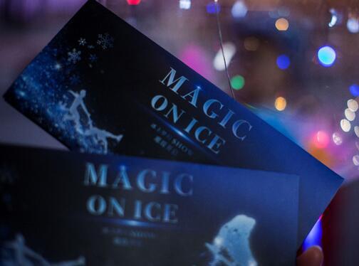 """Magic On Ice""闪耀平安夜 ,庞清佟健:""好久不见"""
