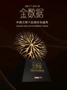 2017-2018金数据中国文娱大数据发布盛典盛大举行