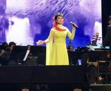 张华敏在颂今作品上海演唱会唱响唯美古风《灞桥柳》