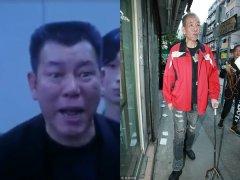 港片反派专业户李兆基身形暴瘦 两度中风拄拐上街