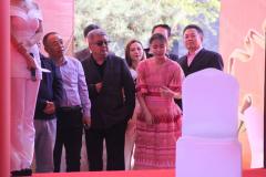 杜新东出席《卧底千金》电影节发布会